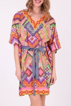 Orientique Chimu Printed Kaftan