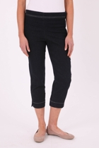 Miracle Side Zip Capri