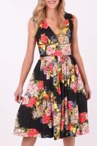 RetroSpec'd Vivian Hummingbird Dress