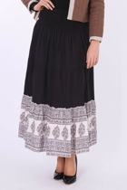 Firefly Dash Cotton Maxi Skirt