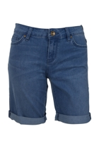 Bumster Knee Length Roll Up Short