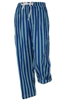 Clive's Eye Striped Cotton PJ Pants