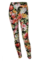 Raquel Printed Full Length Legging