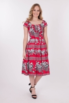 RetroSpec'd Bella Flower Basket Dress