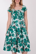 RetroSpec'd Bella Vintage Shamrock Dress