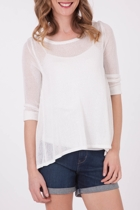 Living Doll Sharapova Knit Top