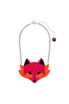 Erstwilder Fleur The Foxy Flame Necklace