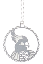 Cockatoo SS Pendant Necklace