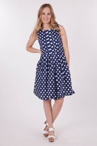 Elise Cicely Dots Dress