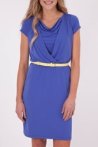 New Jersey Dress With Belt