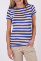 Stripe Crew Neck S/S Tee