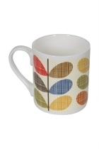 Multi Scribble Stem Mug With Box
