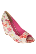 Georgia Floral Wedge