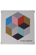 Set Of 12 Geometric Magnets