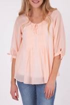 Sorbet Pleat Top