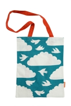 Hand Picked Accessories Clouds Cotton Bag