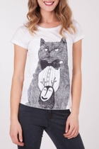 Monster Threads Cat & Monster Tee