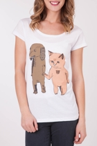 Monster Threads Dog And Cat Tee