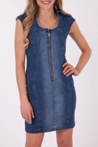 JAG Denim Zip Dress
