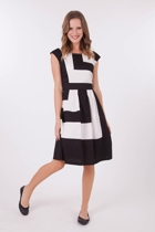 Gitane Magnolia Colour Block Dress