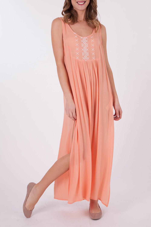 Mink Pink Cross My Heart Maxi Dress