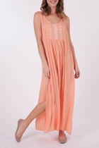 Mink Pink Cross My Heart Maxi Dress