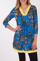Clarity By Threadz Jersey Tunic
