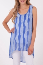 Clarity By Threadz Georgette Tunic