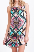 All About Eve Gypsy Shift Dress