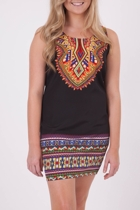 Sass Go Native Shift Dress