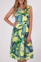 Anabel Lily Print Dress