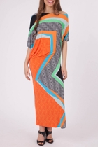 Jagger Drape Side Maxi Dress