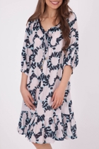 Suzani Bloom Print Dress