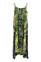 Brushstroke Green Dress
