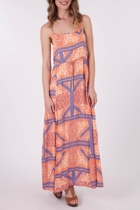 Mink Pink Combie Club Maxi Dress