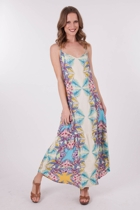 Mink Pink Coastal Dreaming Maxi Dress