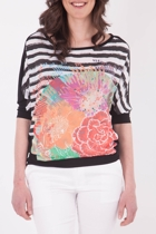 Artwork Flower Tee