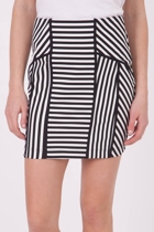 Sass Hello Sailor Stripe Skirt