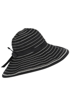 Ladies Wide Brim 2 Tone Sofia Hat