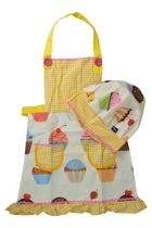 Lulu Housewife Apron & Hat Set