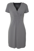 New Jersey V-Neck Dress