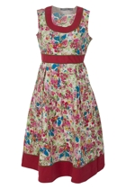 Isla Margarita 50s Tie Dress