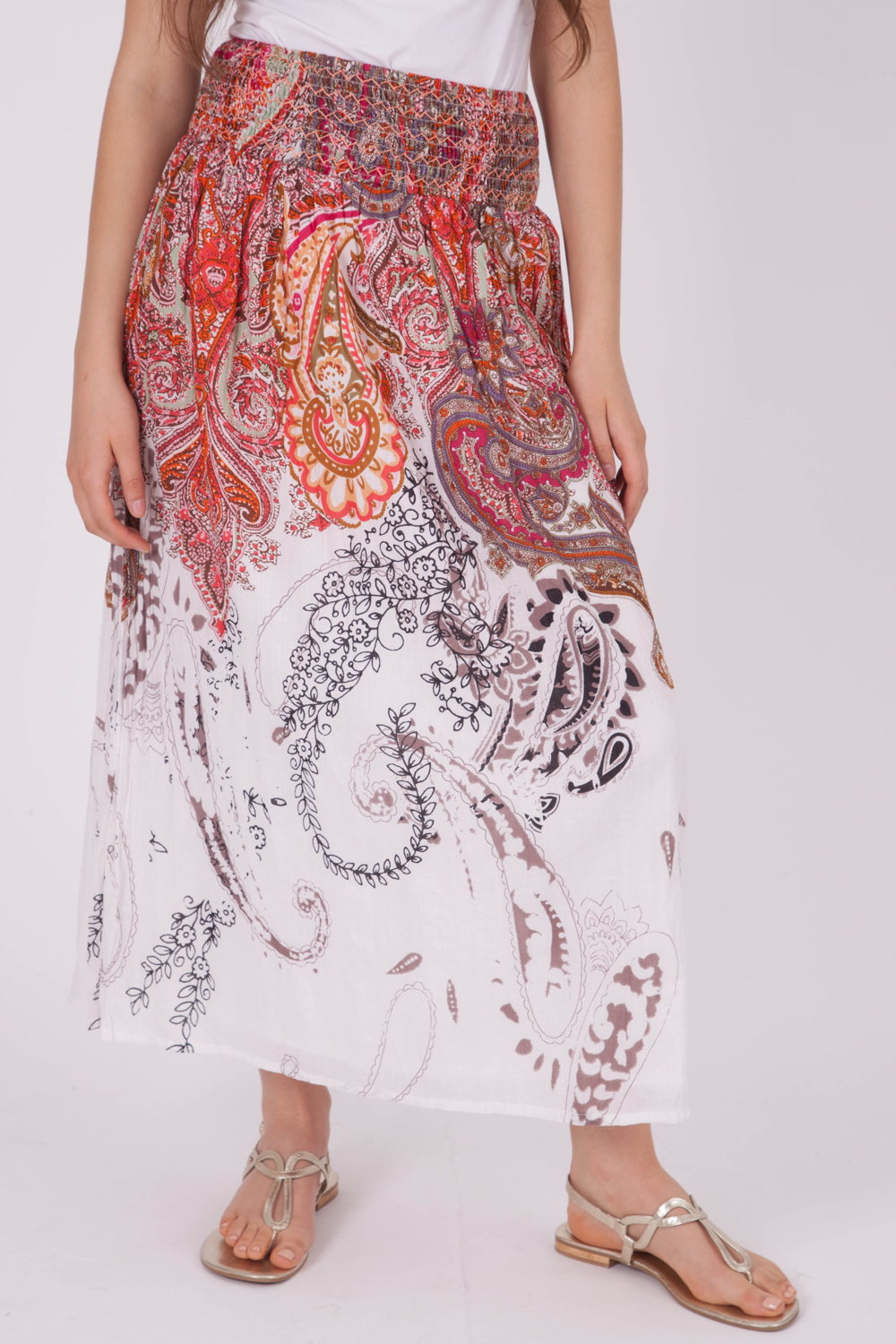Orientique Nazca Maxi Skirt