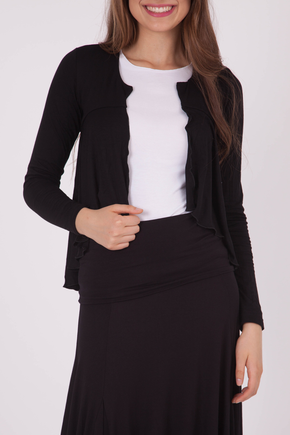 Layer'd Cropped Loose Cardi