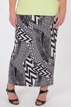 Free Woman Jersey Print Skirt