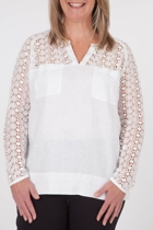 Isla Embroidery Blouse