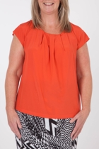 Imogen Pleat Front Blouse
