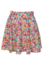 Gerbera Fields Skater Skirt