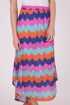 Just Add Sugar Vibration Maxi Skirt