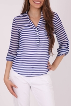 Long Sleeve Stripe Shirt